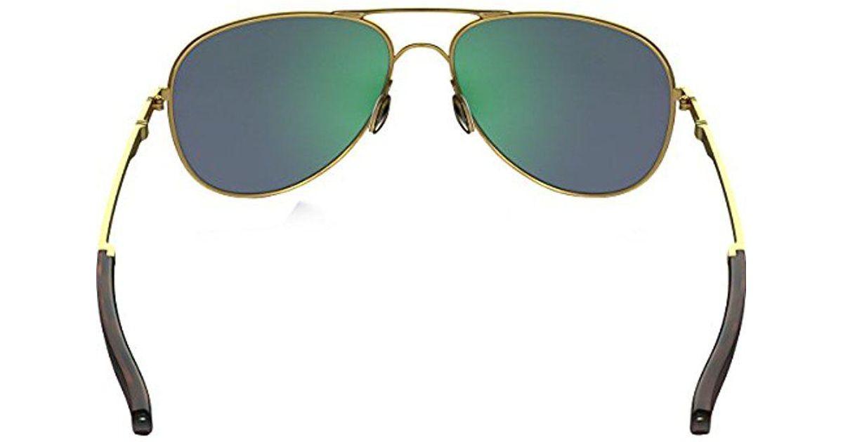 5627d096c4f Lyst - Oakley Oo4119 Elmont Sunglasses in Green for Men