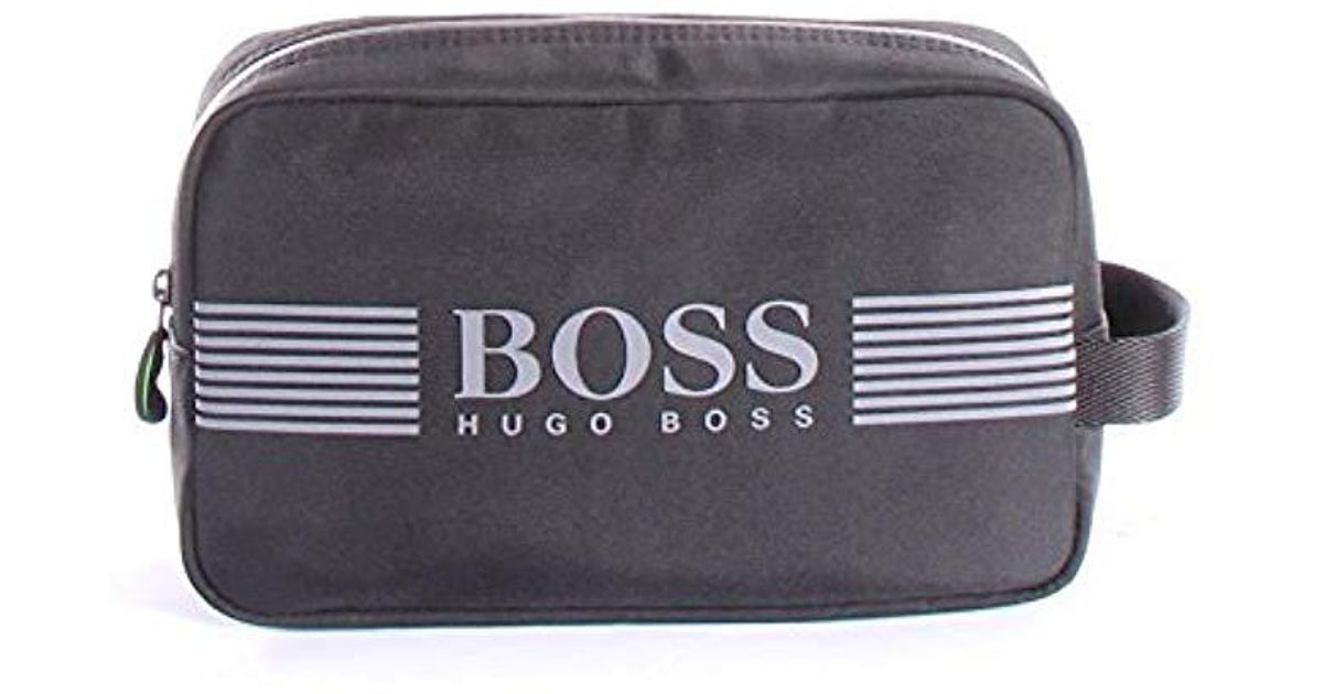 81bd56daec49 BOSS - Black Hugo By Pixel Nylon Washbag for Men - Lyst