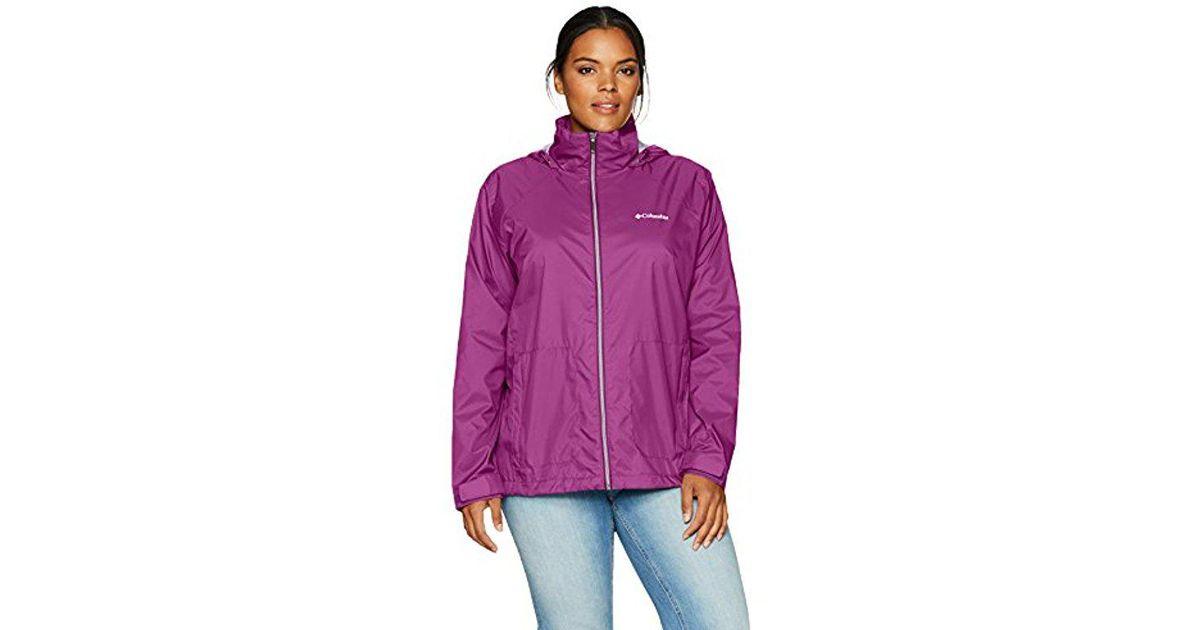 d9ac131dd35 Lyst - Columbia Plus-size Switchback Ii Jacket Plus-size in Purple