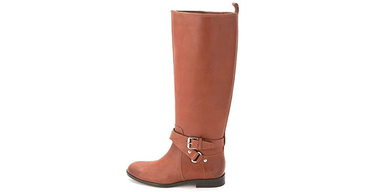 5972cf36684f Lyst - Enzo Angiolini Daniana Riding Boot in Brown