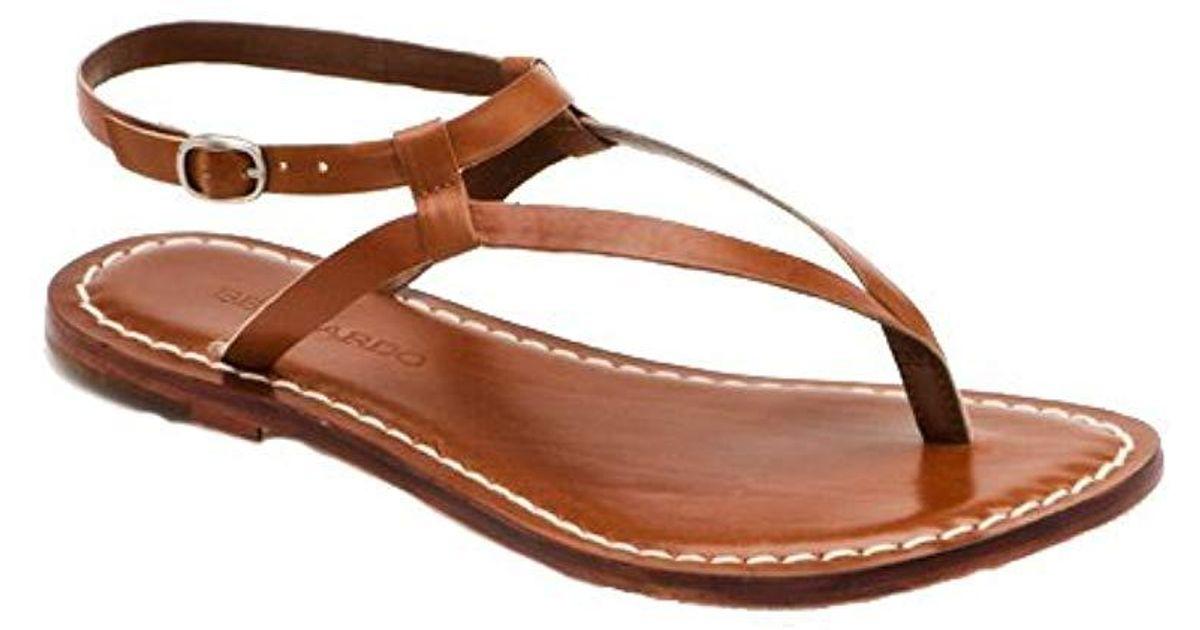 ffb7c42862f Lyst - Bernardo Merit Flat Sandal