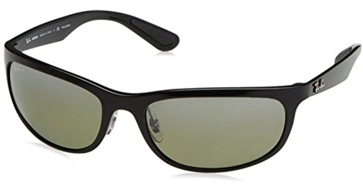 c88d3dc553 Lyst - Ray-Ban Rb4265 Chromance Lens Wrap Sunglasses