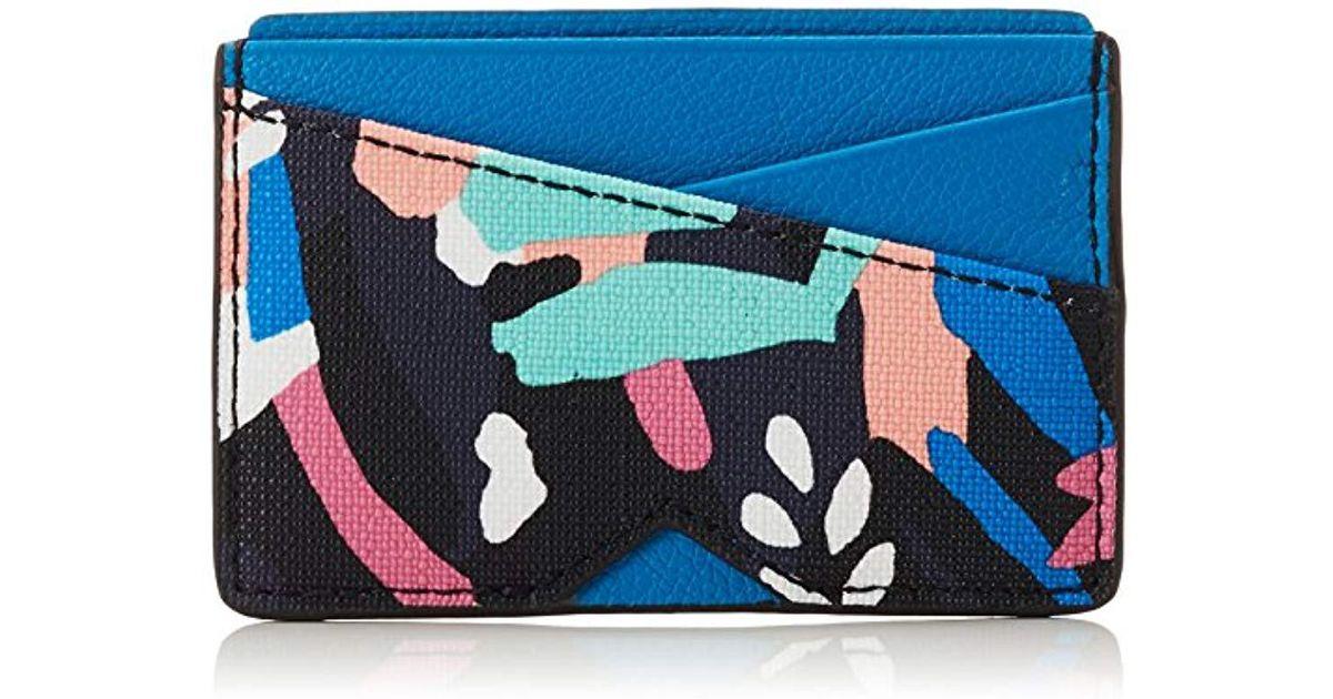 Wallet Multicolor multi Cm 99x10 Kartenmäppchen H Azul Lyst 's Fossil 48x6 16 b 0 En T X twqgTpqE