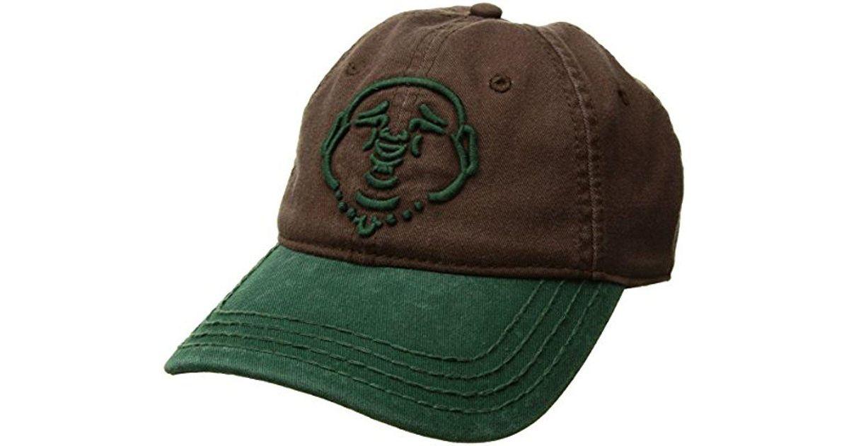 84b3c8c2 Lyst - True Religion Buddha Core Baseball Cap in Green for Men - Save  38.46153846153846%