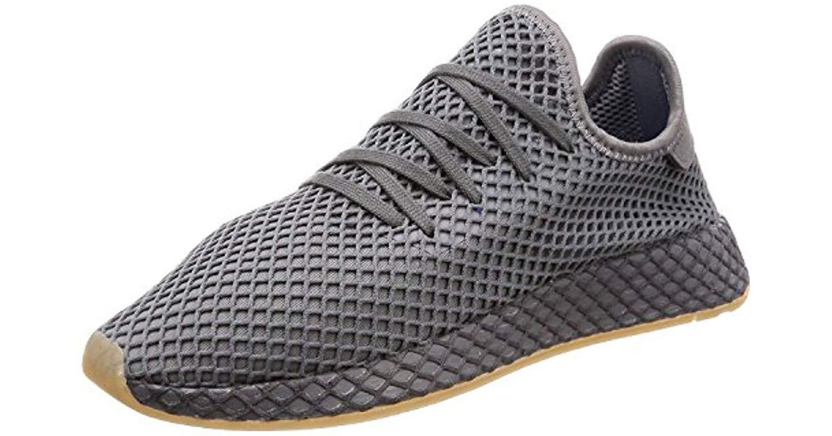 0a998a9c1 adidas Deerupt Runner W Gymnastics Shoes in Gray - Lyst