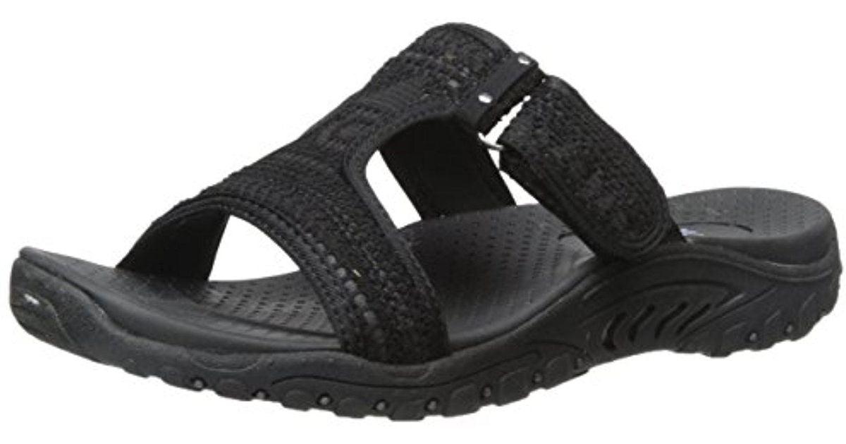 6dc5e84c6074 Lyst - Skechers Reggae T Dress Sandal