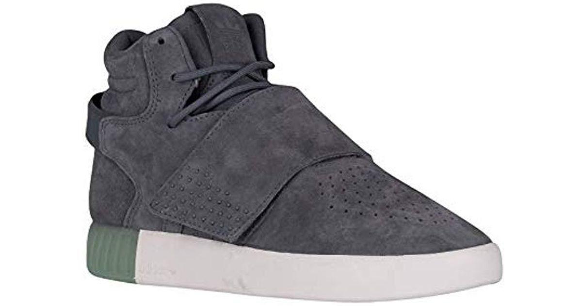 Lyst - Adidas Originals Tubular Invader Strap W Fashion Sneaker ef7bc9476