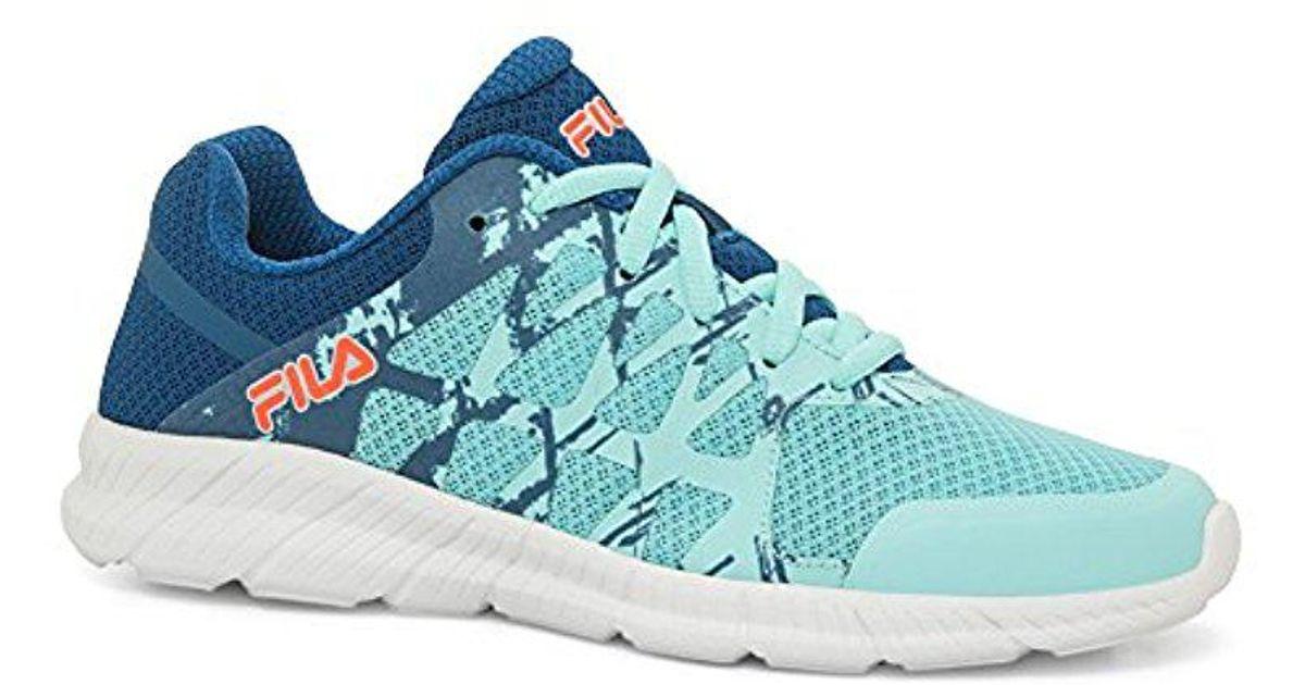 d5f7ab5d3b0d Lyst - Fila Memory Finity Running Shoe in Blue