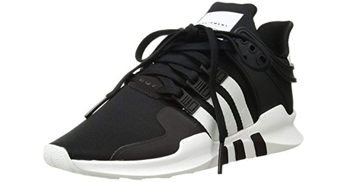 a5864fb5f Lyst - adidas Originals Adidas Eqt Support Adv Fashion Sneaker in Black for  Men - Save 20%