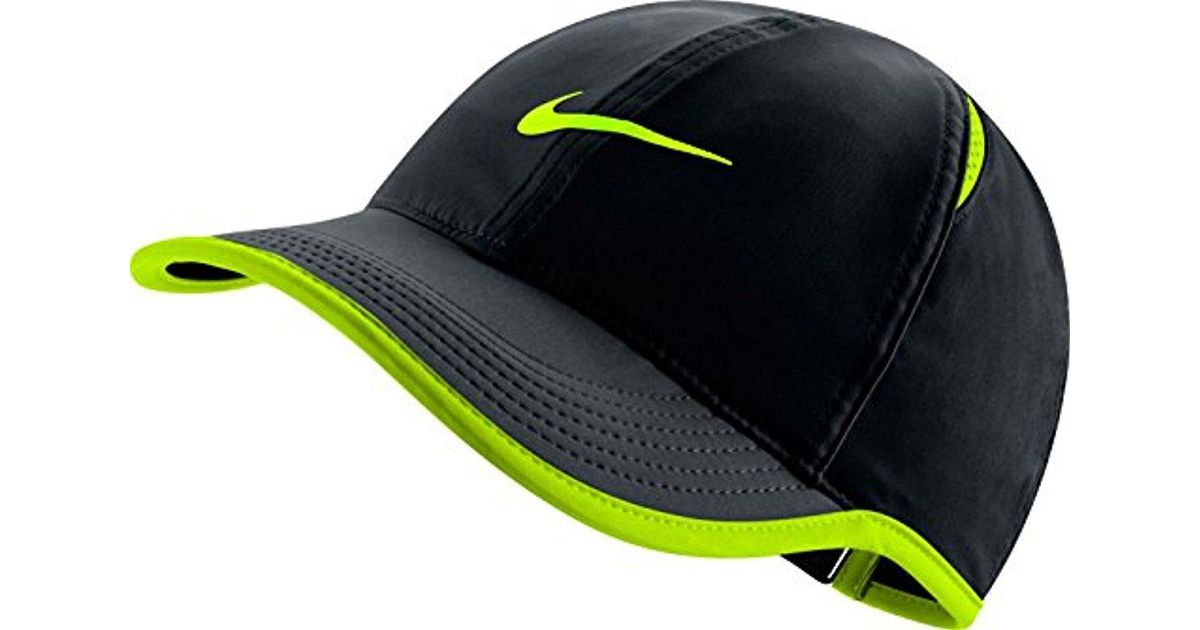 Nike - Black Court Aerobill Featherlight Tennis Cap for Men - Lyst 8df8e1994ff