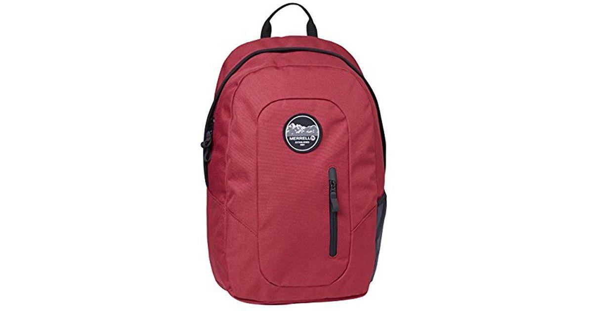 12c03fe8fd4 Merrell Mercer Multipurpose Backpack in Red for Men - Lyst