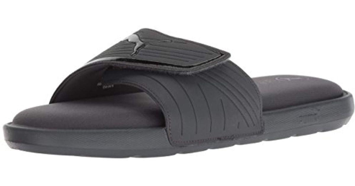 f7b37716c85f0b Lyst - PUMA Starcat Sfoam Slide Sandal in Black for Men