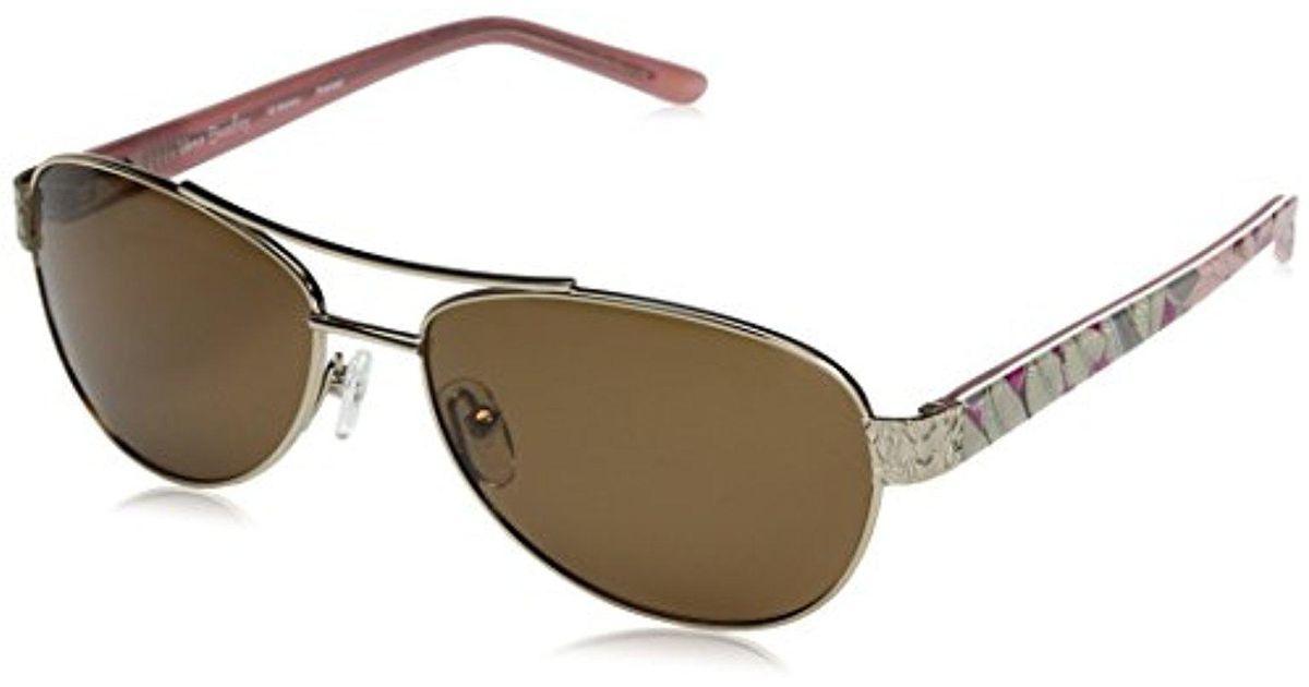 08ee0e6e9 Vera Bradley Marlene Non-polarized Aviator Sunglasses - Lyst