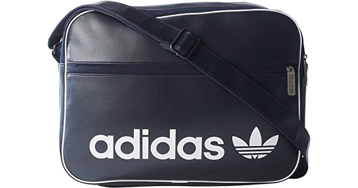 4361acc3eefc Adidas Airliner Vint Bag in Blue for Men - Lyst