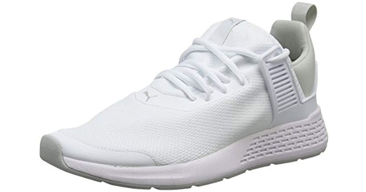 PUMA Unisex Adults  Insurge Mesh Fitness Shoes in White - Lyst c38007508