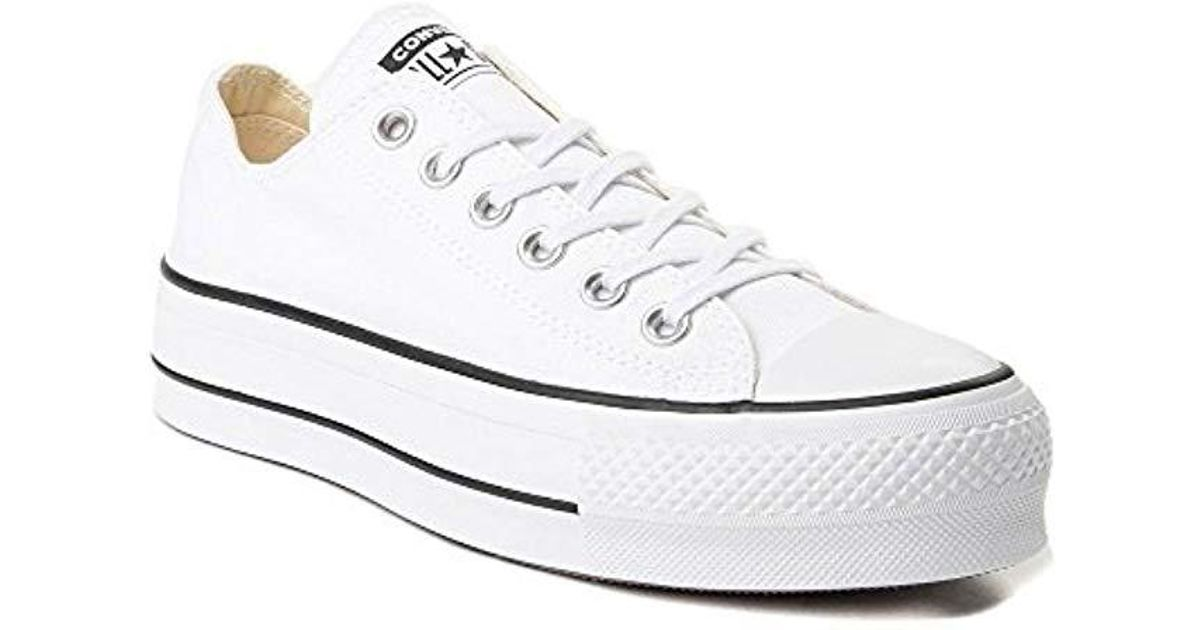 0df2a7c9c528 Lyst - Converse Unisex Chuck Taylor All Star Low Top Sneakers in White