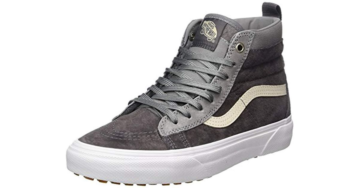 bf7dc48a2e Vans Unisex Adults  Sk8-hi Mte Trainers in Gray for Men - Lyst