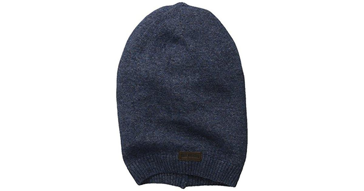 1807a51561d1f Lyst - True Religion Slouchy Beanie in Blue for Men