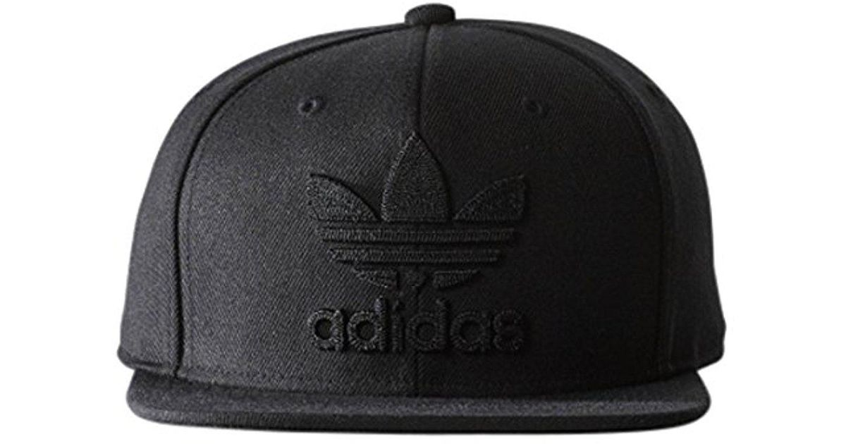 17f43041d57 ... ireland lyst adidas originals snapback flatbrim cap in black for men  7a00a 8fbd6 ...