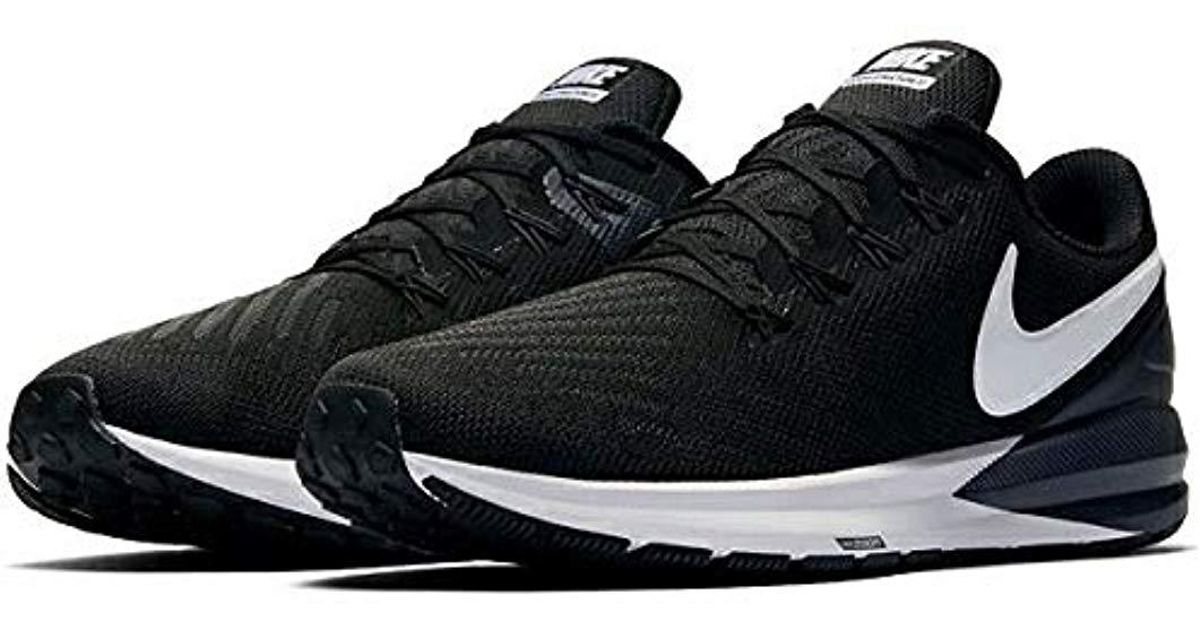 best website a0cb4 bf629 Nike Air Zoom Structure 22 Navy BlueWhite AA1636-401 Free Shipping