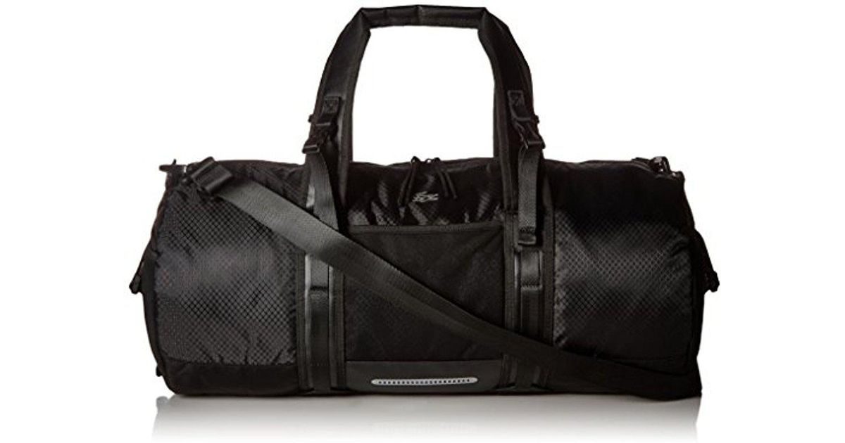 fa6d29bd Lacoste Match Point Nylon Duffle Bag in Black for Men - Lyst