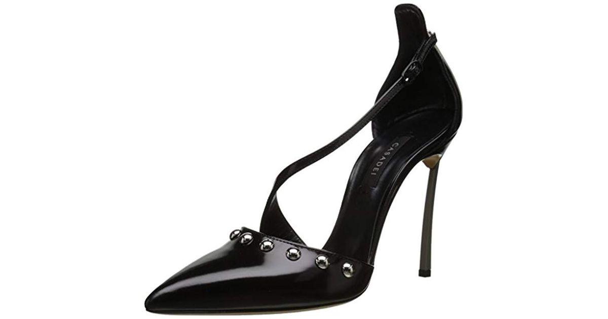 Lyst - Casadei Milano Blade Van Argento Dress Pump in Black 4b0aa7b2bf7