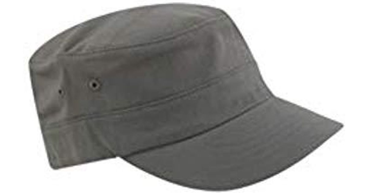 802269031 Kangol Cotton Twill Army Cap in Gray for Men - Lyst
