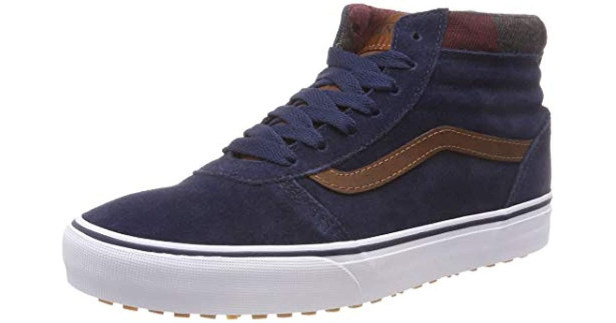0a576abf06 Vans Ward Mte Hi-top Trainers in Blue for Men - Lyst