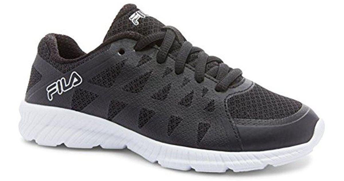 f90a646b1e90 Lyst - Fila Memory Finity Running Shoe in Black