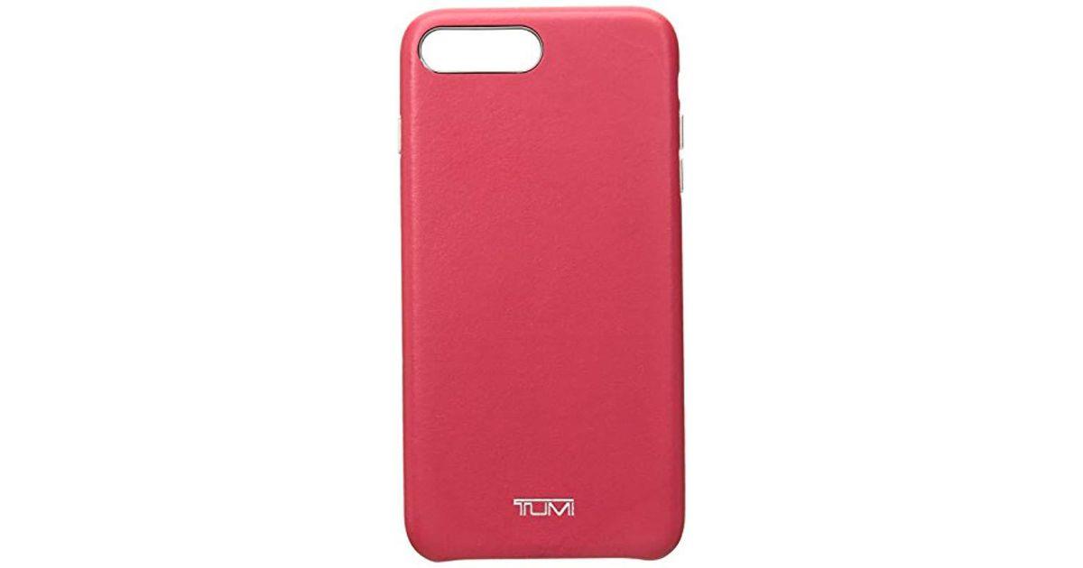 official photos 5c096 0ab24 Tumi Multicolor Unisex Leather Wrap Case Iphone 8 Plus