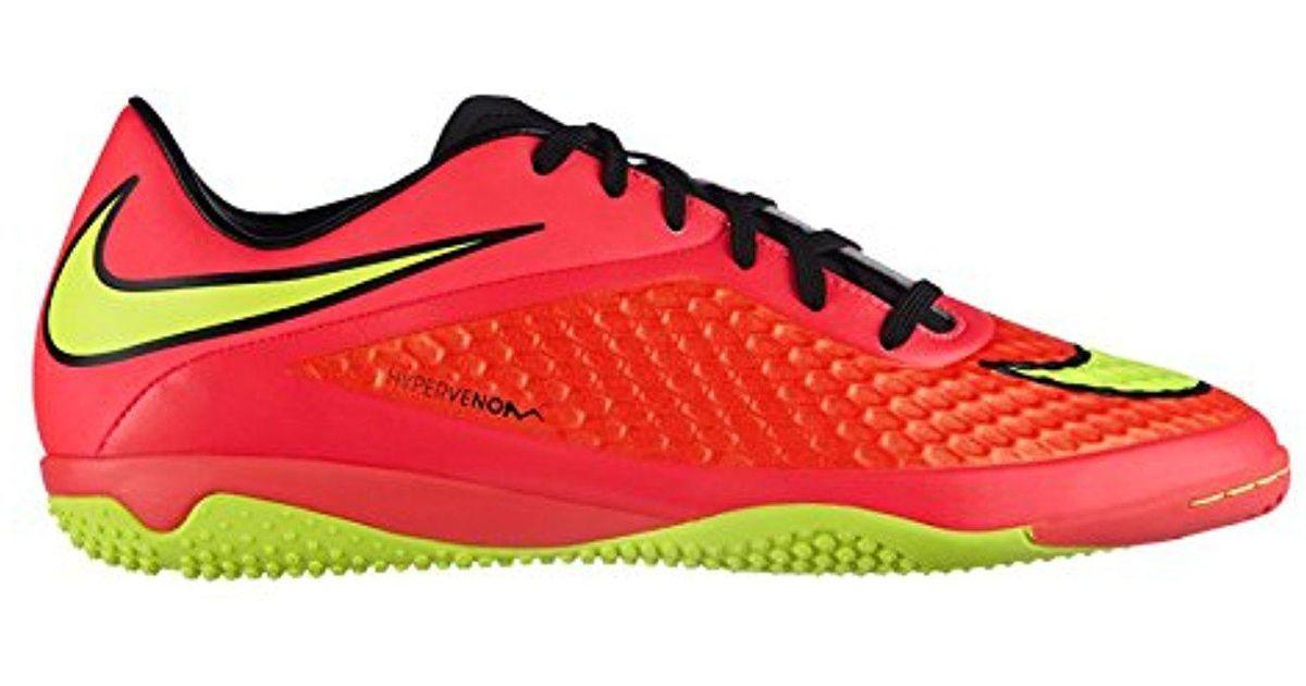09a039f371c Nike Hypervenom Phelon Ic Mens Indoor Soccer Bright Crimson hyper Punch volt  Us Sz. in Red for Men - Lyst