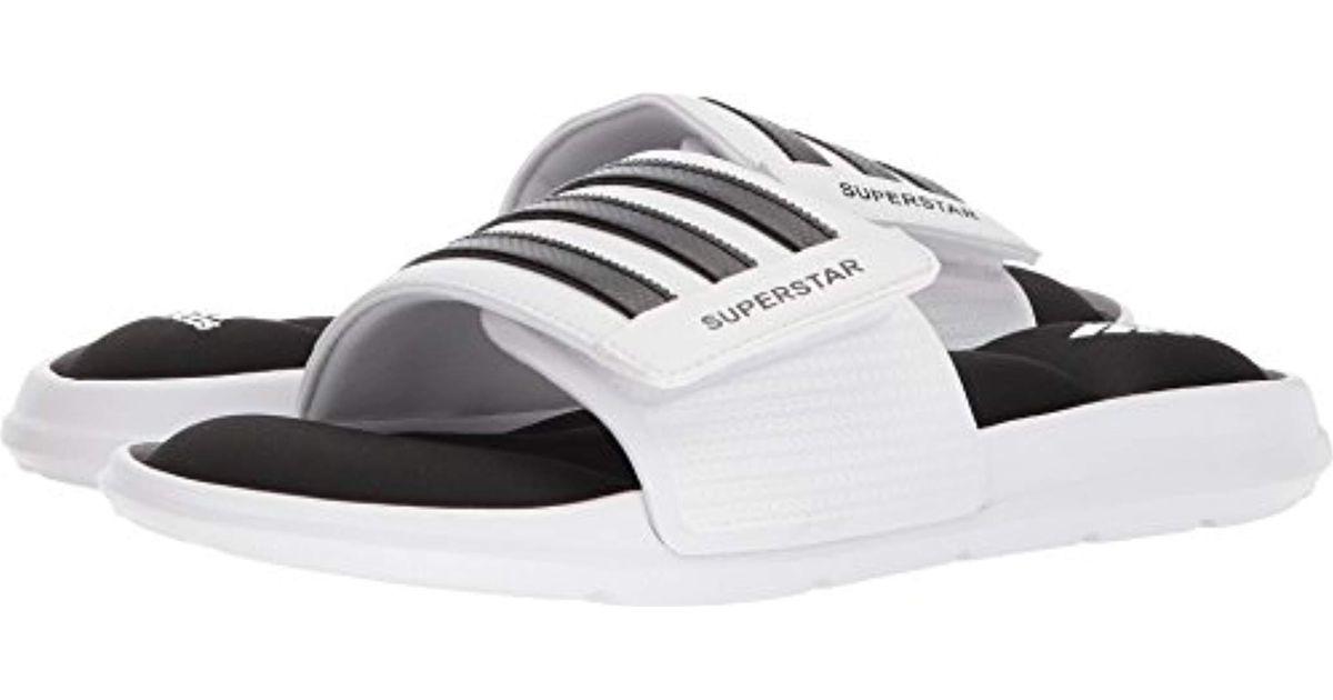 a18eb07c76b8 Lyst - Adidas Superstar 5g Slide Sandal in White for Men - Save  28.57142857142857%