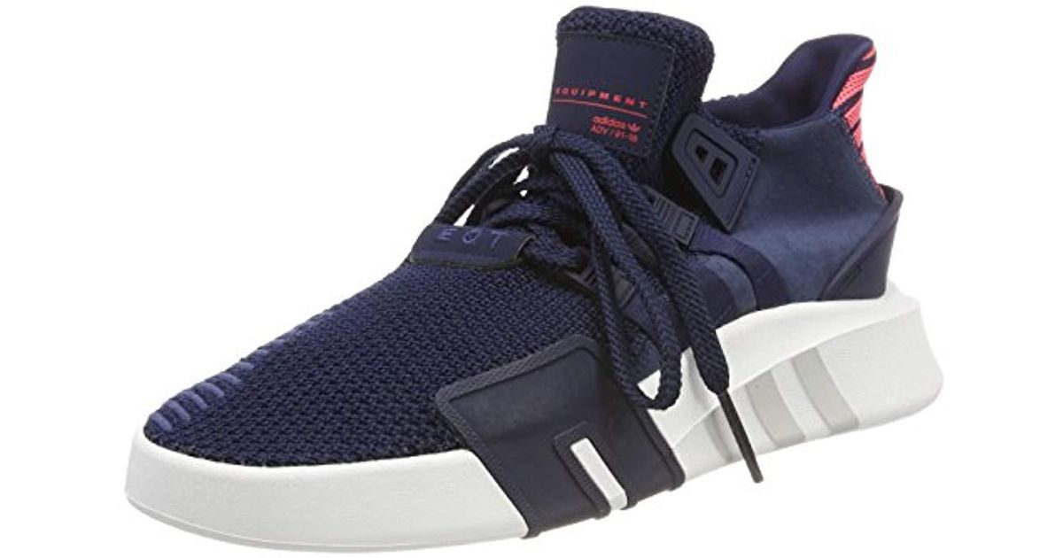 official photos ca368 ffea9 Adidas - Blue Eqt Bask Adv Fitness Shoes for Men - Lyst