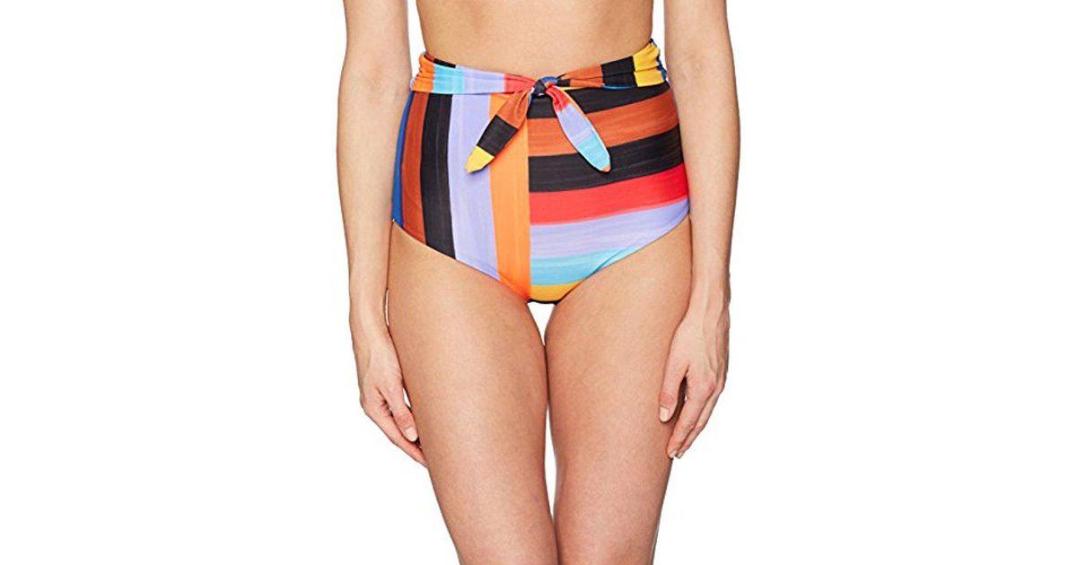 01d8436bcd Lyst - Mara Hoffman Jay High Waisted Bikini Bottom Swimsuit - Save 15%