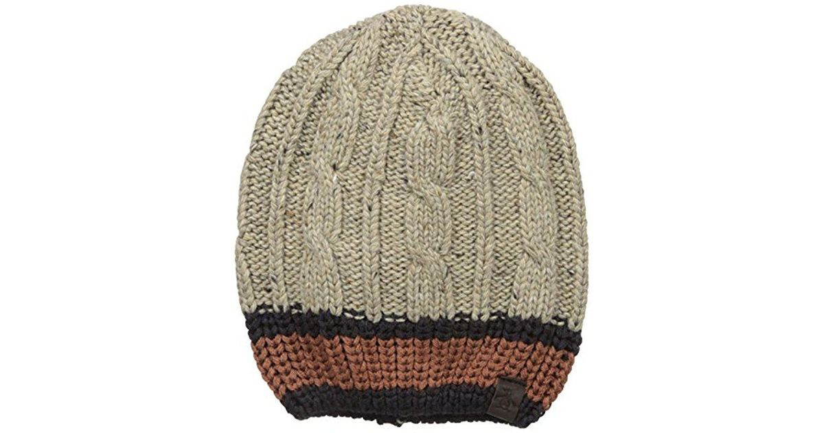 60790e95d402c Lyst - Original Penguin Flecked Cable Knit Beanie for Men
