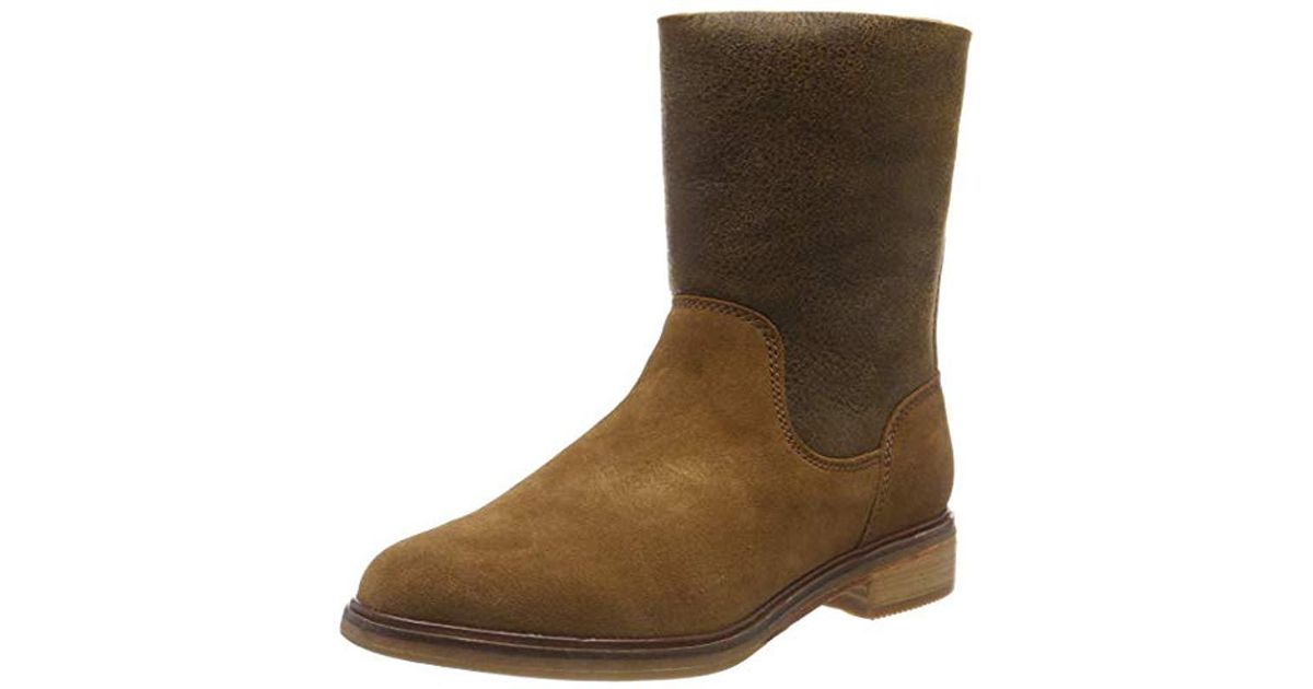 68a12b7205812f Clarks Clarkdale Axel Slouch Boots in Brown - Save 4% - Lyst
