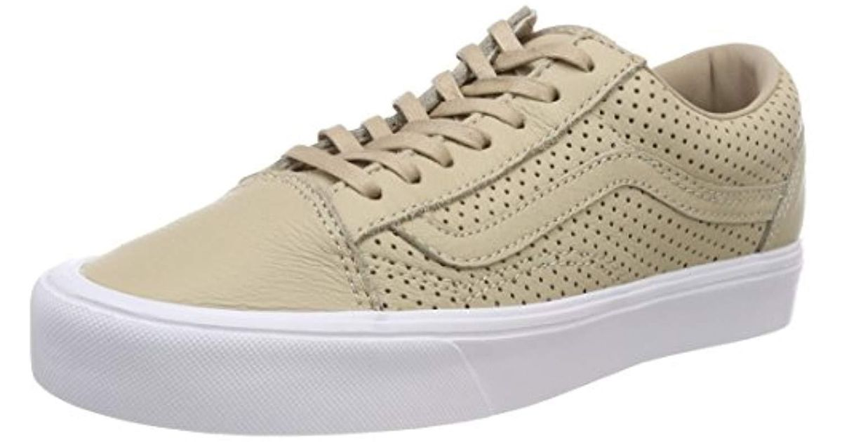 5e770e02a13e Vans Unisex Adults  Old Skool Lite Trainers in Natural - Lyst