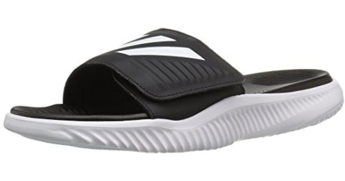 5b6d4632d Lyst - adidas Alphabounce Bb Athletic Slide Sandals in White for Men