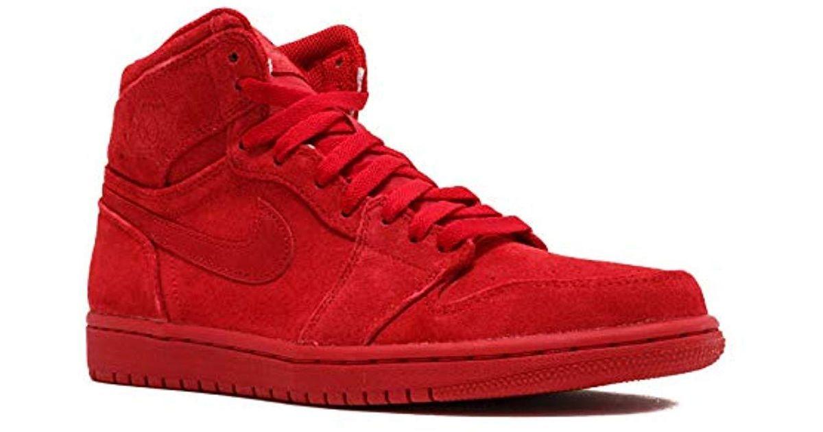 cfe597cade918 Nike - Red 's Air Jordan 1 Mid Sneakers for Men - Lyst