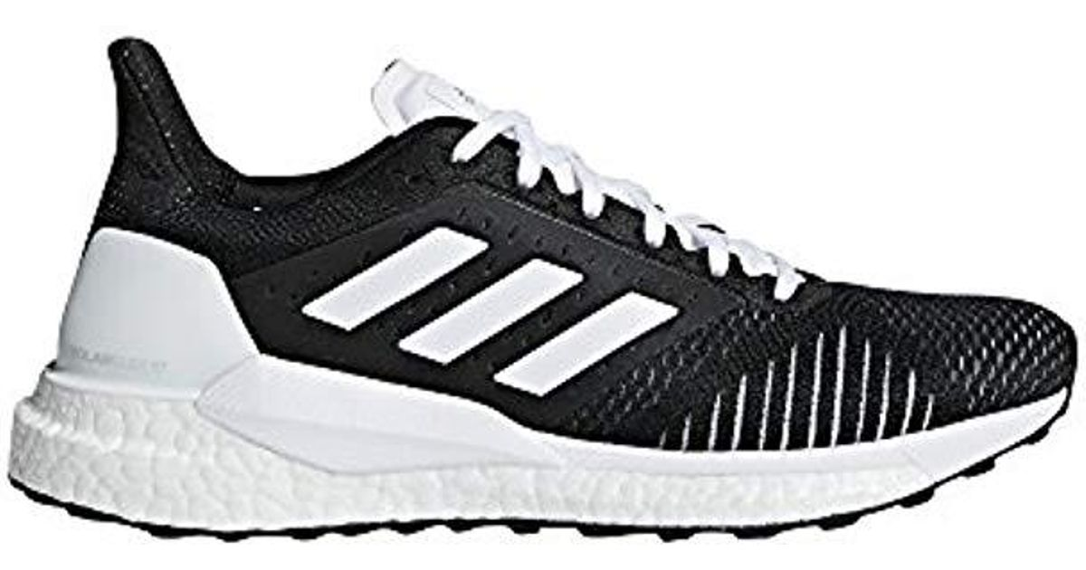 7c45034177efc adidas Solar Glide St Training Shoes Green in Black - Lyst