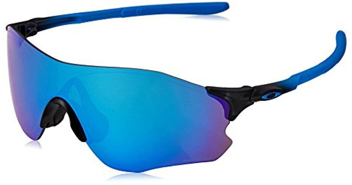 1fd4708c4ab Lyst - Oakley Evzero Path Polarized Iridium Rectangular Sunglasses ...