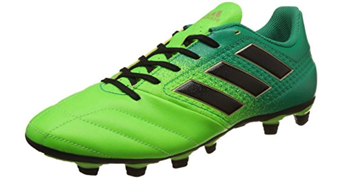 ee039e0c6 adidas Ace 17.4 Fxg Footbal Shoes in Green for Men - Save 55% - Lyst