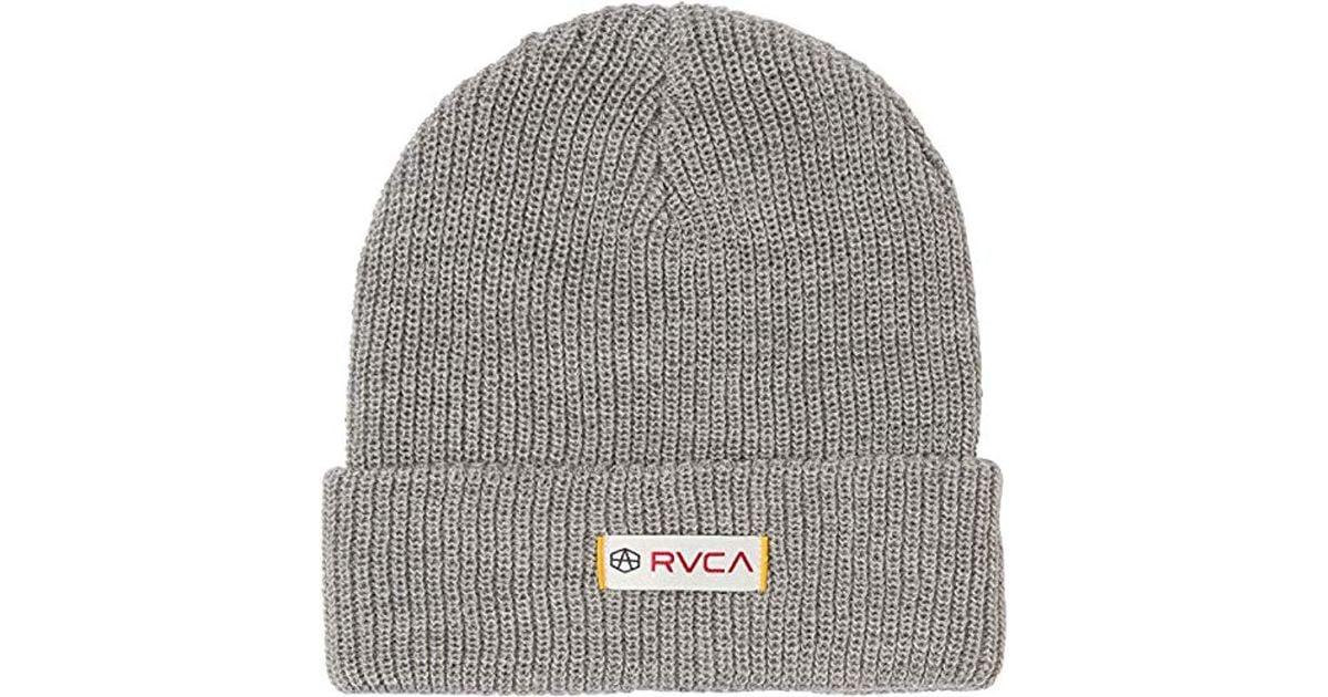 05f2dc18c42 Lyst - RVCA Andrew Reynolds Beanie