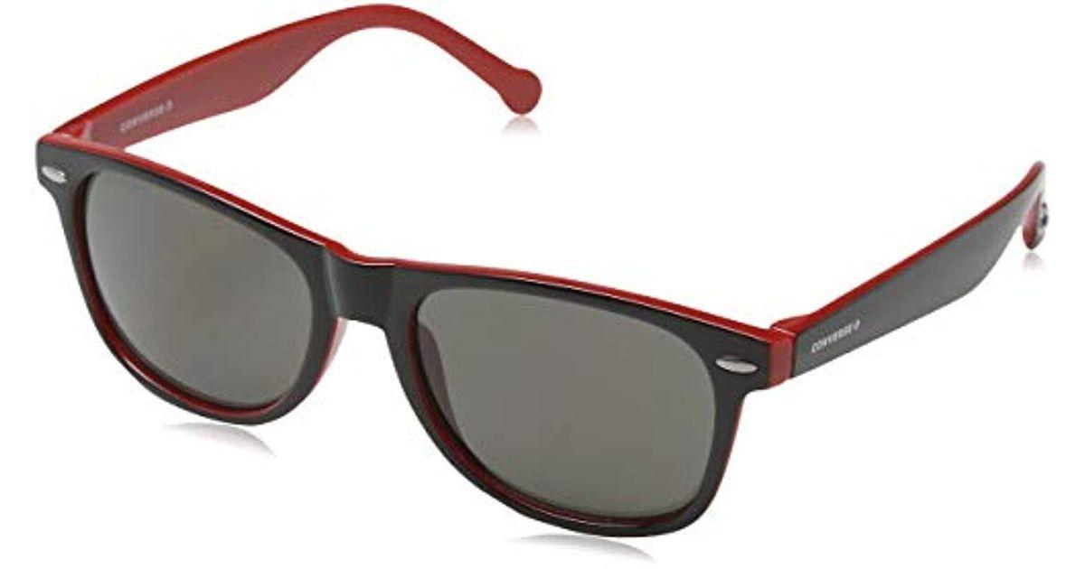 8181d2199107e Converse  s Sco081q Sco081q Sunglasses Blue Red in Blue for Men - Lyst