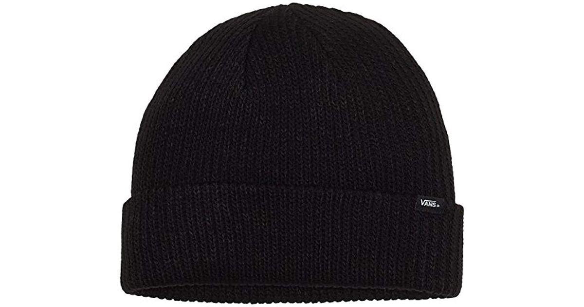 298badf8eb2 Vans M Core Basics Beanie Cap in Black for Men - Lyst