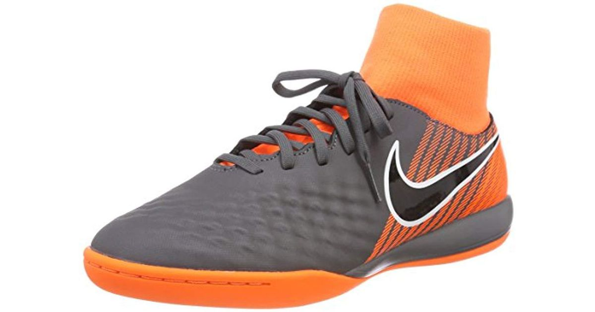 purchase cheap d2cd0 9bd44 Nike Magista Obrax 2 Academy Dynamic Fit Ic Football Boots in Gray for Men  - Lyst