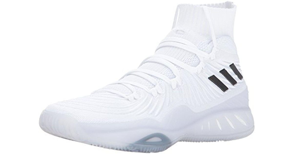 43cf15a26b03 Lyst - adidas Crazy Explosive 2017 Primeknit Basketball Shoes in White for  Men