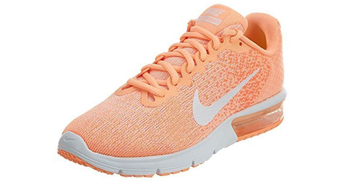 0ca8c5f203 Nike Wmns Air Max Sequent 2 Running Shoes in Orange - Lyst