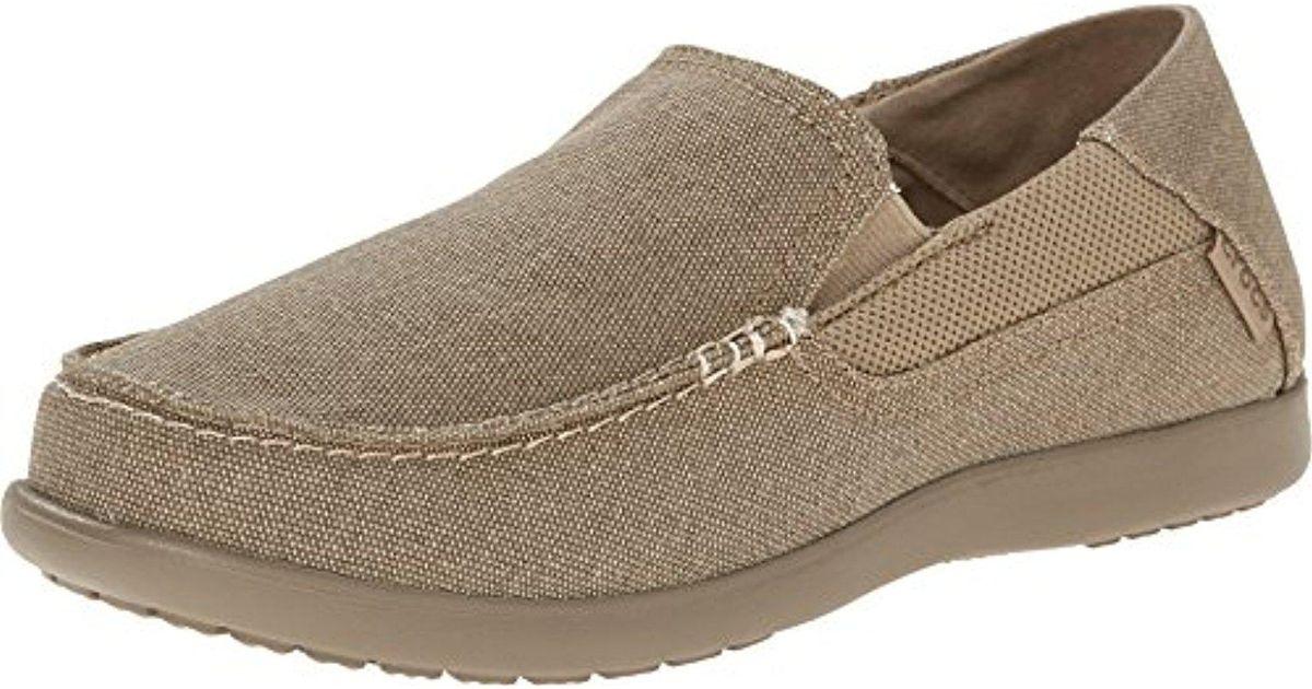 695c2908cf9 Lyst - Crocs™ Santa Cruz 2 Luxe Loafer