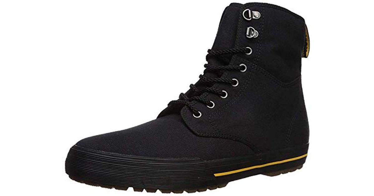 ae82e458 Lyst - Dr. Martens Winsted Black Canvas Fashion Boot in Green for Men